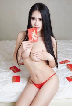 嫩模美女MM美芝携大红包来拜年