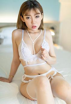 美艳尤物萌汉药蕾丝圆乳姿态撩人