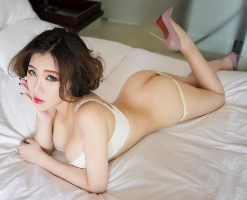 魅妍社赵欢颜薄纱情趣装销魂性感