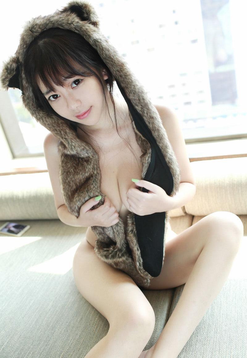 甜美尤物刘飞儿巨乳性感写真图片